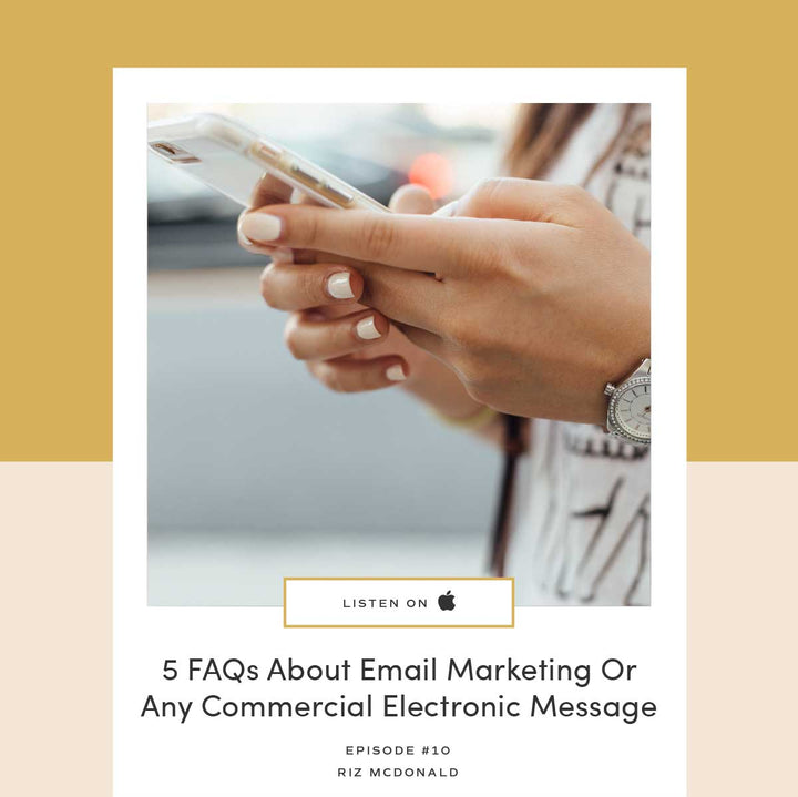 10 | 5 FAQs About Email Marketing Or Any Commercial Electronic Message