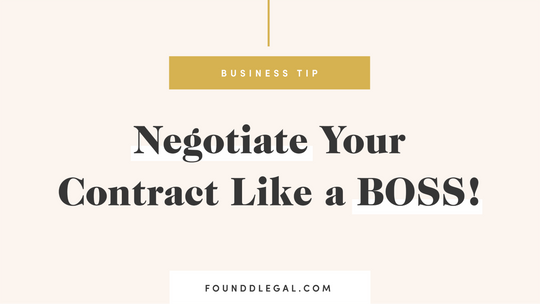 Negotiate Your Contract Like a Boss!