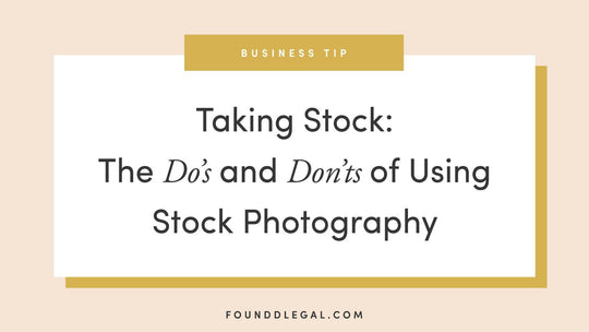 Taking Stock: The Dos And Don'ts Of Using Stock Photography