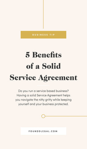 5 Benefits of a Solid Service Agreement