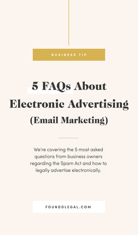 5 FAQs About Email Marketing Or Any Commercial Electronic Message