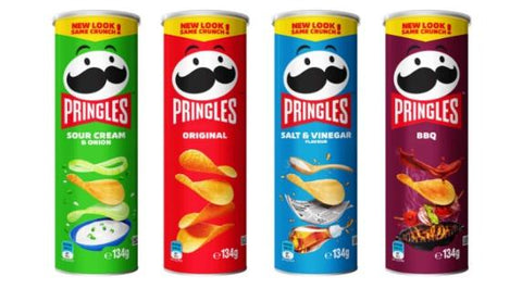 Pringle's cans