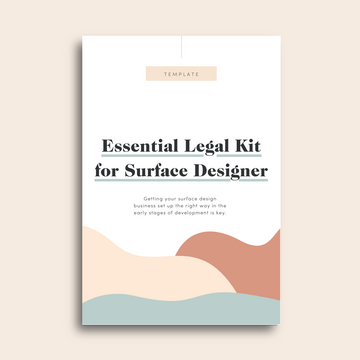 Essential Legal Kit for Surface Designer