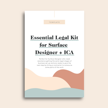 Essential Legal Kit for Surface Designer + ICA