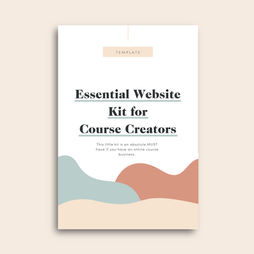 Essential Website Kit for Course Creators