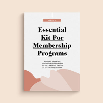 Essential Legal Kit for Membership Program