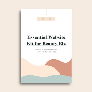 Essential Website Kit for Beauty Biz