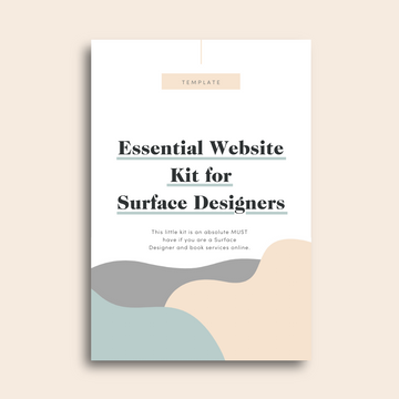 Essential Website Kit for Surface Designers