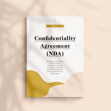 Confidentiality Agreement Contract Template | NDA