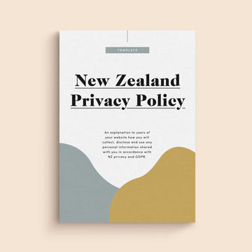 Privacy Policy Template for New Zealand