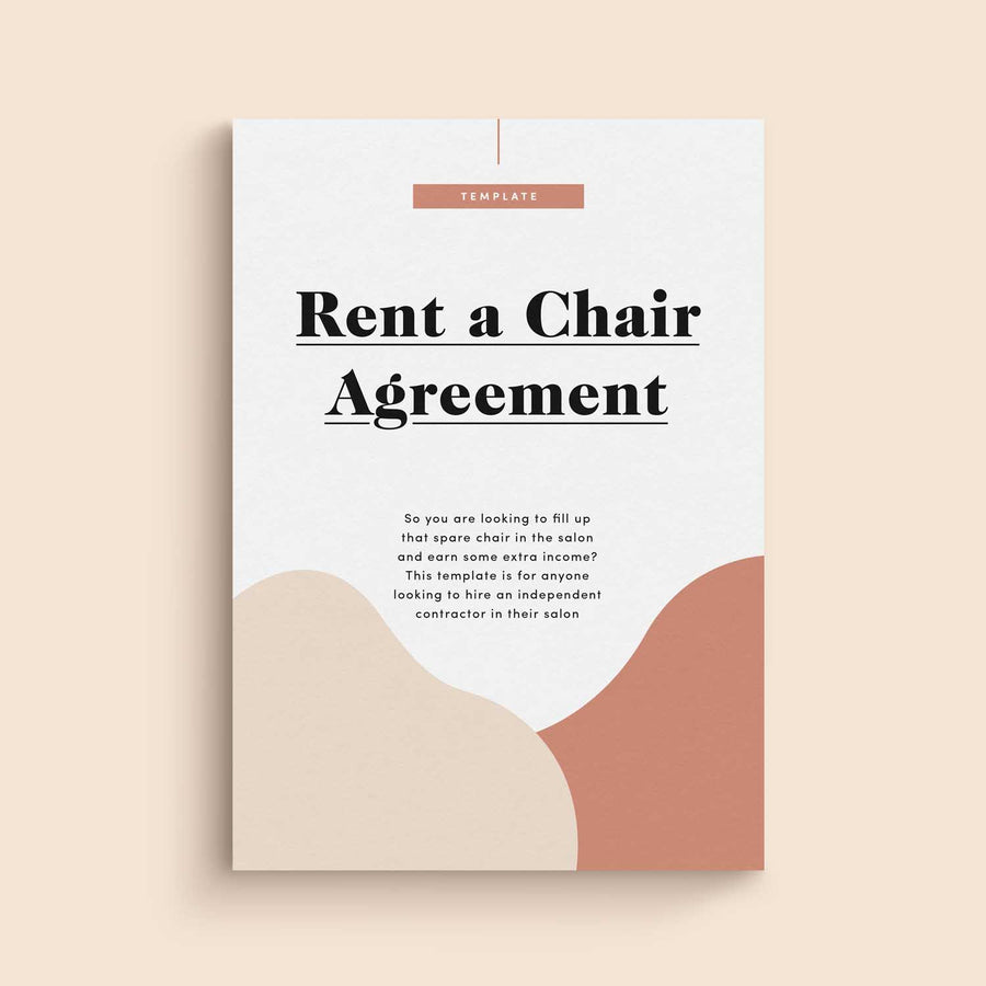 Rent-A-Chair Agreement Template
