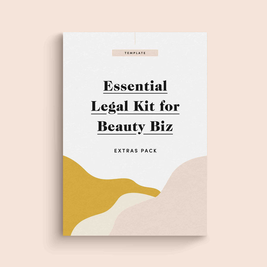 Essential Legal Kit for Beauty Biz -  Extras Pack