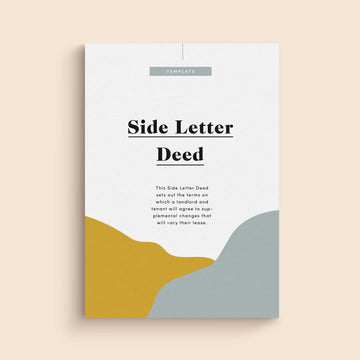 Side Letter Deed | Contract Template