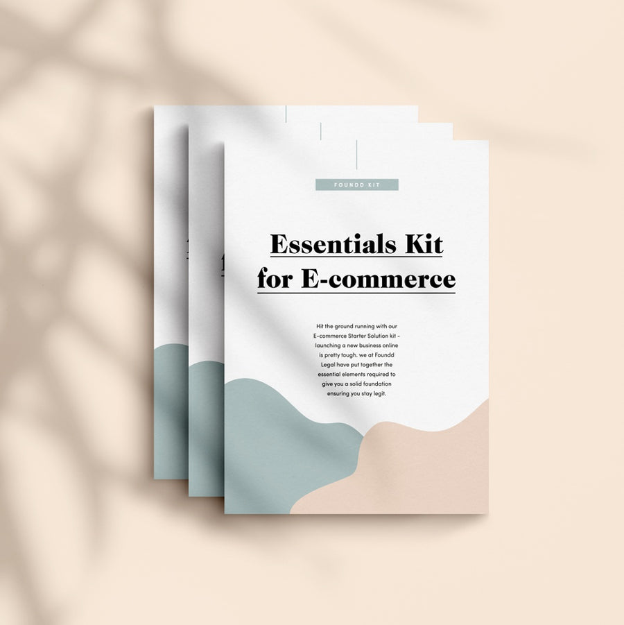 Legal documents for ecommerce - Essentials Pack including Privacy Policy and Website T&Cs