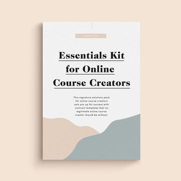 Essential Legal Kit for Online Course Creators