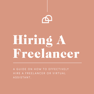 Guide on How to hire a freelancer or Virtual Assistant