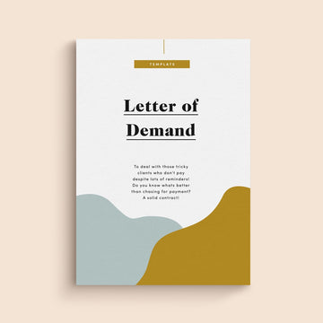 letter of demand template
