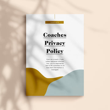 privacy policy for coaches