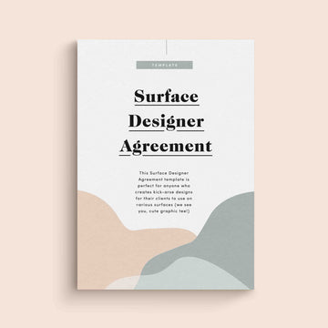 Surface Designer Contract Template | Foundd Legal