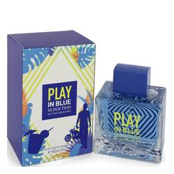 Play In Blue Seduction Cologne par Antonio Banderas