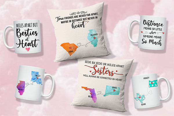 11 Best Personalized Gifts For Your Long-Distance Friend
