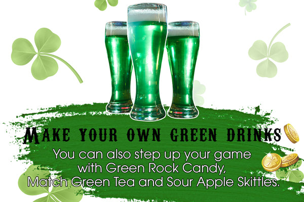 Make your own green drinks