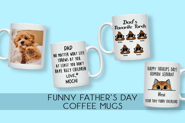 Personalized Father's Day Coffee Mugs in 2021