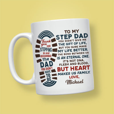 You Didn't Give Me The Gift Of Life, Personalized Mug, Funny Father's Day gift