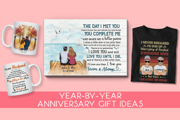 A Year-by-Year Anniversary Gift Guide for Every Year You've Been Married