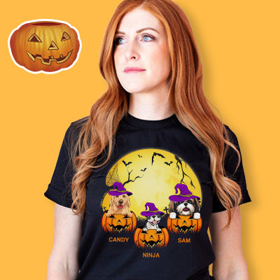 Personalized Custom T-shirt, Halloween Ideas, Gift for Dog Lovers
