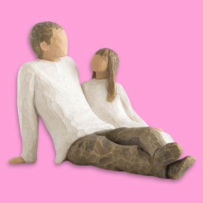 Willow Tree Father and Daughter Figure