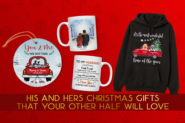 30 Awesome His and Hers Christmas Gifts In 2021