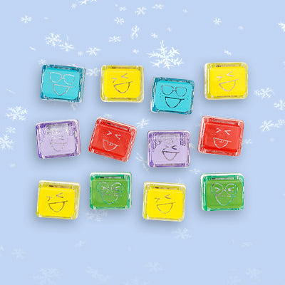 Glowing Bath Time Cubes