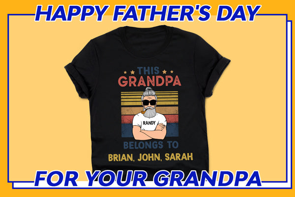 This Belongs To Old Man Personalized Shirt