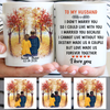 To my husband I Didn't Marry You, Fall mugs, Anniversary gifts, Personalized gifts for him