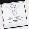 Forever and Always, Forever Love Luxury Necklace, Gift for Wife from Husband
