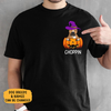 Pocket Custom T Shirts, Halloween Dog Pumpkin, Personalized Gifts for Dog Lovers