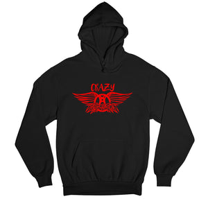 Aerosmith Hoodie - Crazy Hooded Sweatshirt The Banyan Tee TBT