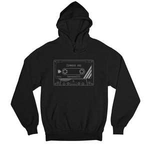 Aerosmith Hoodie - Dream On Hooded Sweatshirt The Banyan Tee TBT