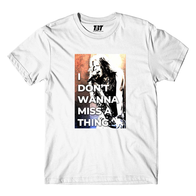 Aerosmith T-shirt - Don't Wanna Miss A Thing T-shirt The Banyan Tee TBT