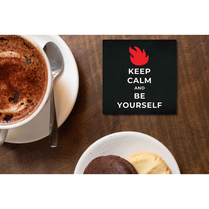 Audioslave Coaster - Be Yourself Coasters The Banyan Tee TBT