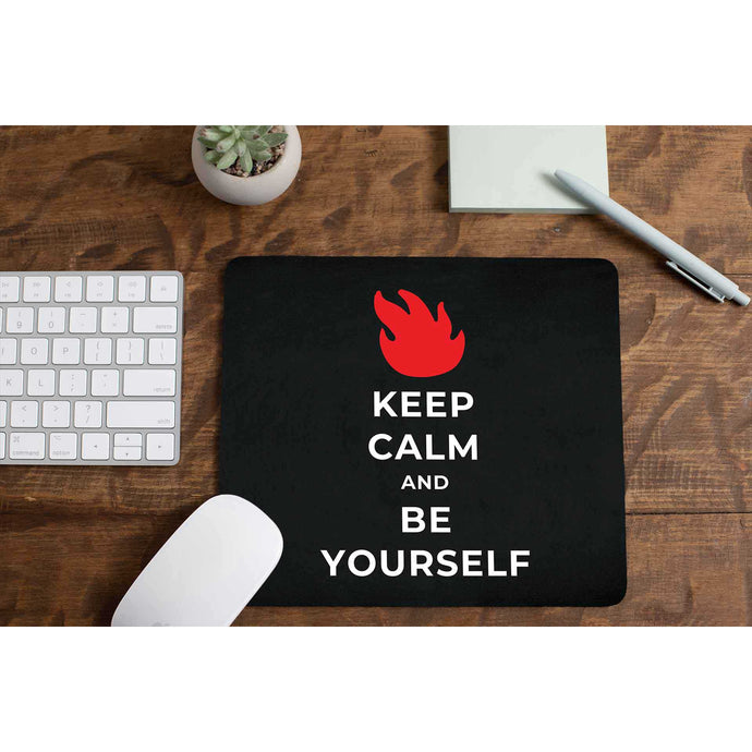 Audioslave Mousepad - Be Yourself The Banyan Tee TBT
