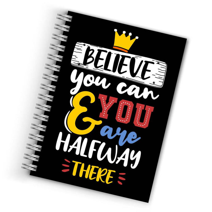 Buy Cool Believe You Can Notebook THE BANYAN TEE Notebook Quotes Notebook in INDIA