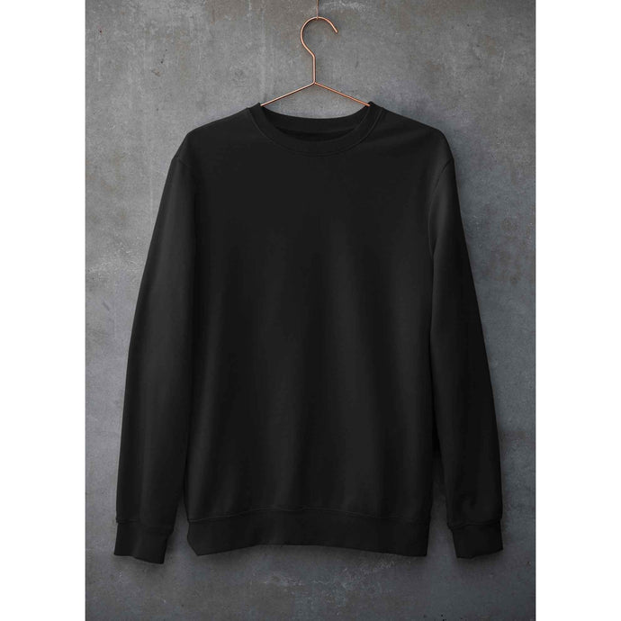 Plain Black Sweatshirt The Banyan Tee sweatshirts and hoodies for men for women