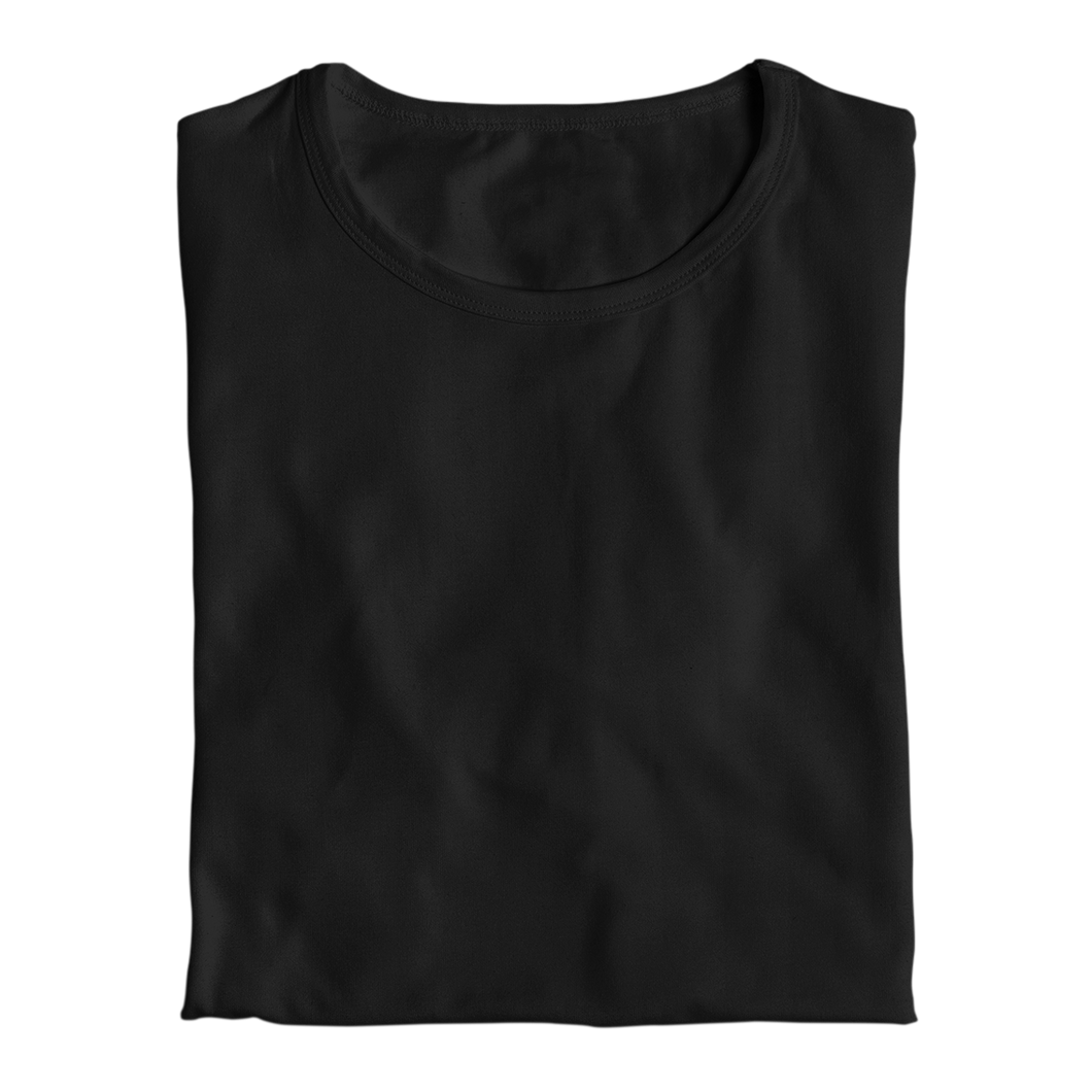 black tops by the banyan tee cotton plain black top for women india