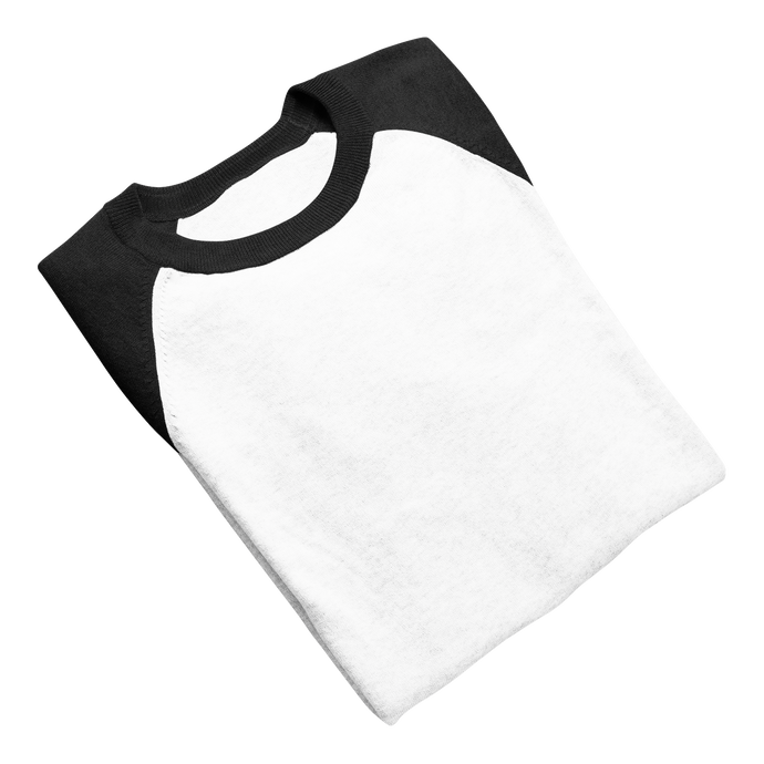 black and white raglan for women 3/4 th sleeve india the banyan tee white raglans