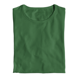 bottle green tops by the banyan tee plain bottle green cotton top tops for girls tops for women