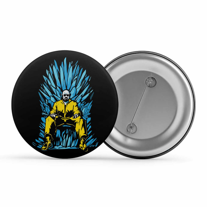 Breaking Bad Badge - The Iron Throne Metal Pin Button The Banyan Tee TBT