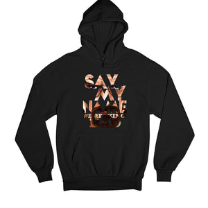 Breaking Bad Hoodie - Say My Name Hoodie Hooded Sweatshirt The Banyan Tee TBT