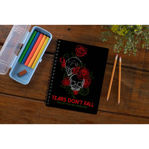 Bullet For My Valentine Notebook - Tears Don't Fall Notebook The Banyan Tee TBT
